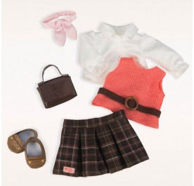 Our Generation Deluxe Cardigan Outfit