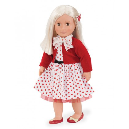 """Our Generation Retro 18""""Doll - Rose"""