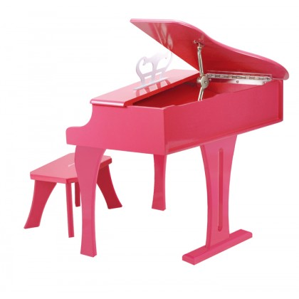 Hape 0319 Grand Piano Music Toy in  Pink