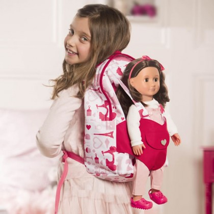Doll Carrier Backpack - Party
