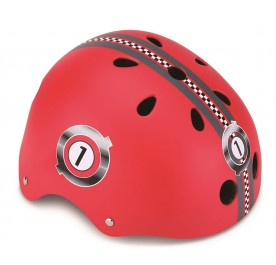 Globber Helmet Junior Racing Red XXS/XS 48-51CM