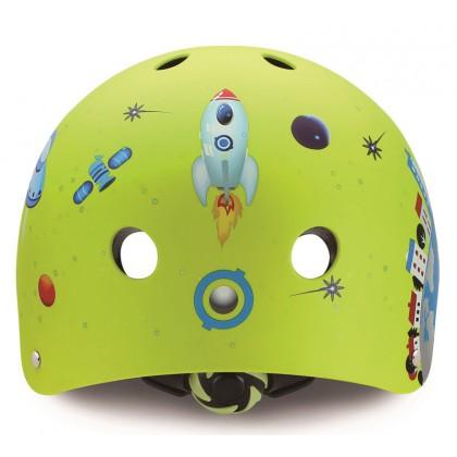 Globber Helmet Junior Rocket Lime XXS/XS (48cm to 51cm)
