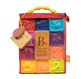 B. Toys One Two Squeeze, Soft Blocks