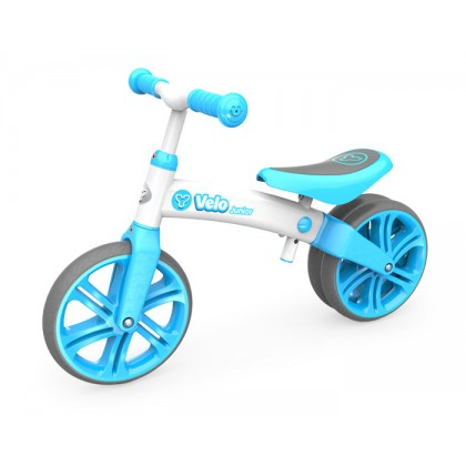 YVelo Junior Balance Bike Blue