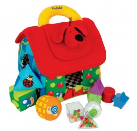 K's Kids Deluxe Patrick Shape Sorting House