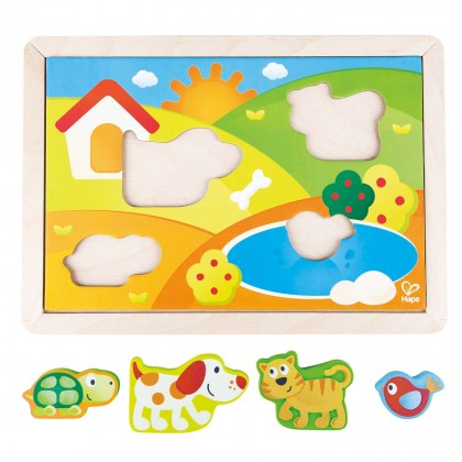 Hape 1601 Sunny Valley Puzzle