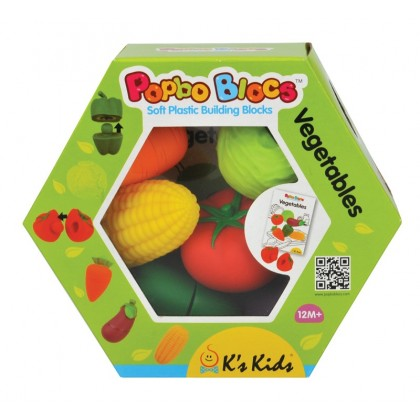 K's Kids KA10727 Popbo Vegetables