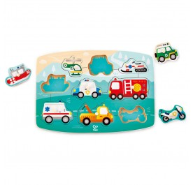 Hape Emergency Peg Puzzle