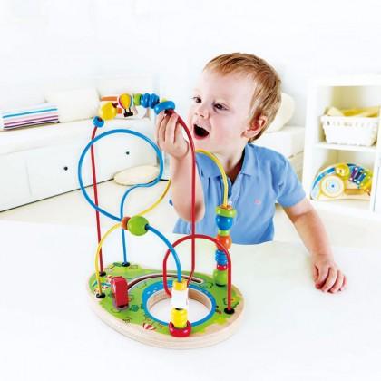 Hape 1811 Playground Pizzaz Maze for Hand-eye coordination
