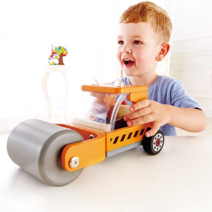 Hape 3020 Steam'N Roll Play Vehicle for Toddler