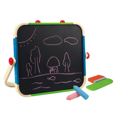 Hape 1009 Anywhere Art Studio Hand Carry Easel