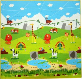 Hape Wild  Animal Creeping Playmat