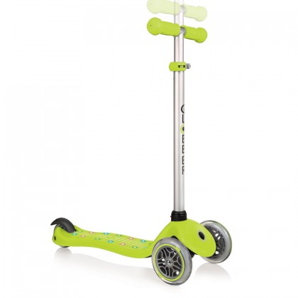 Globber Primo Starlight Scooter for 3+ - Green