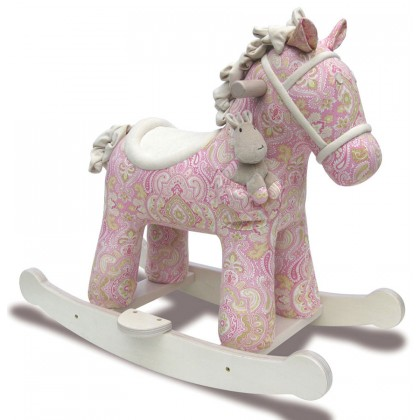 Little Bird Told Me LB3022 Pixie & Fluff Rocking Horse