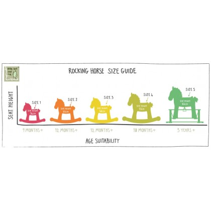 Little Bird Told Me LB3022 Pixie & Fluff Rocking Horse for 9 months UP