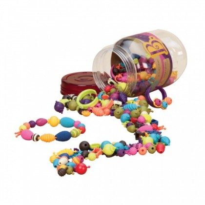 B.EAUTY JR. & Pop Arty JR. BEADS - 275pcs