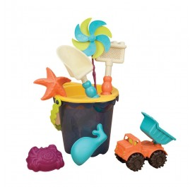 B Toys B. Medium Bucket Set - Navy