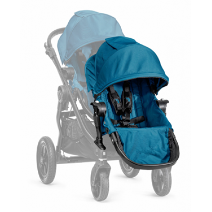 2nd Seat City Select Black frame with Adapter - Teal
