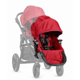2nd Seat City Select Black frame with Adapter - Red