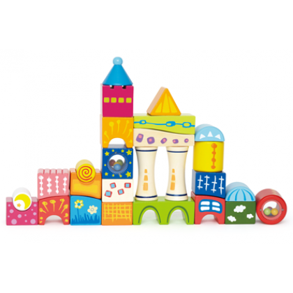 Hape Fantasia Block Castle