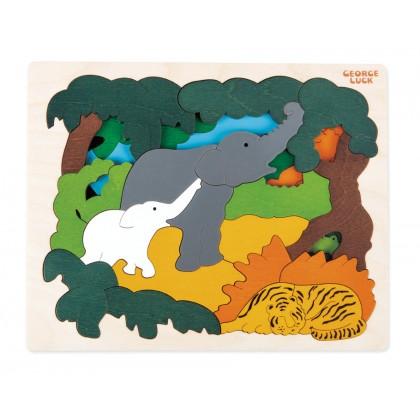 Hape George Luck - Asian Animals