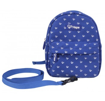 Hape Bag with Harness - Blue