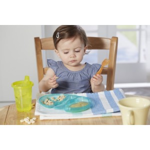 Take & Toss Double Duty Plates - 4pk