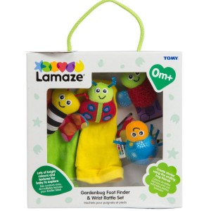 Lamaze Foot Finder & Wrist Rattle