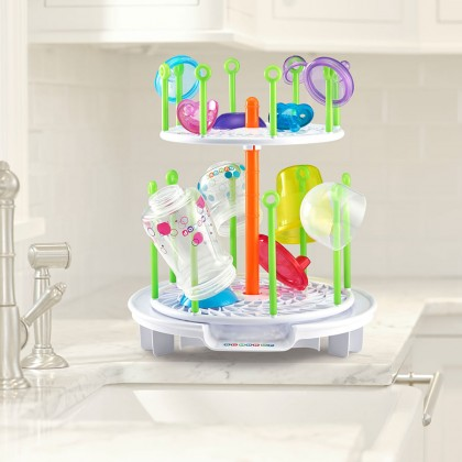 The First Year Gumdrop Spinning Drying Rack - White Packaging