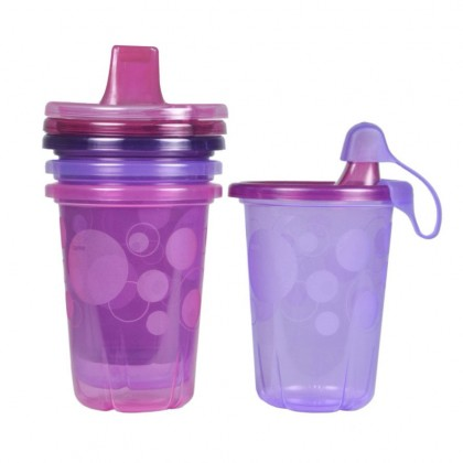 The First Years Take & Toss 10 oz. Spill-Proof Sippy Cups (4-pack)
