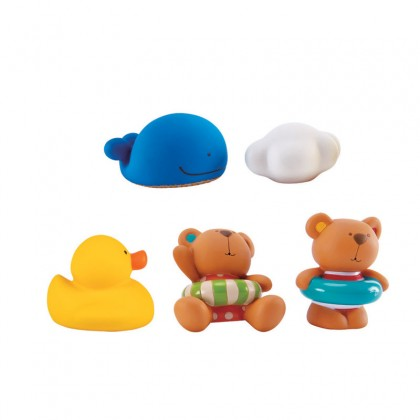 Hape 0201 Teddy & Friends Squirts