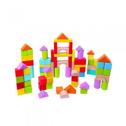 Hape 8247 Wonderful Beech Block Set - 101 pcs