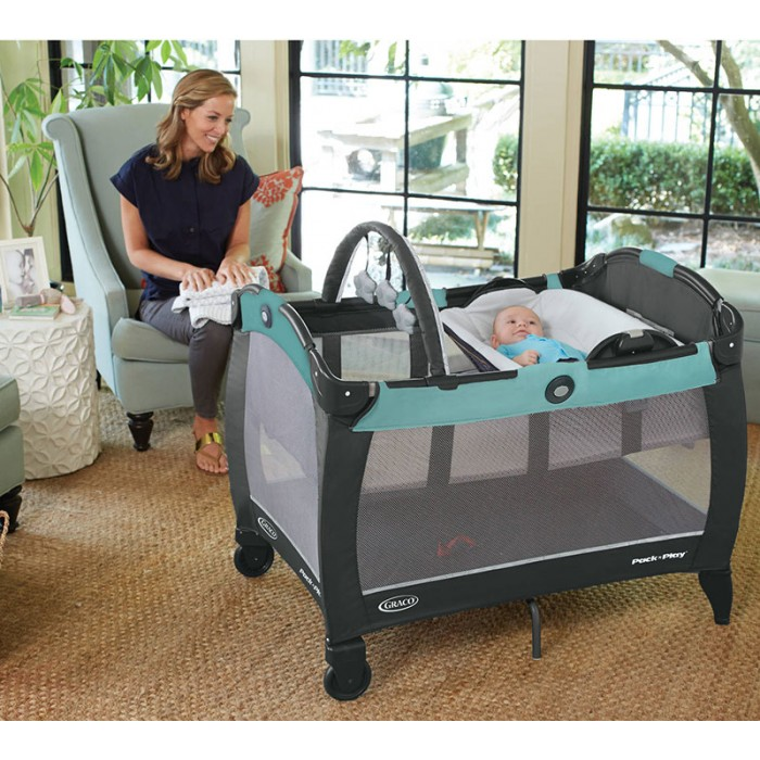 Graco Pack N Play Playard Reversible Napper Amp Changer Lx