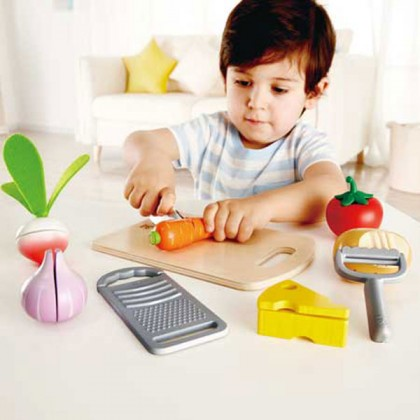 Hape Cooking Essentials 3154 Kitchen Role Play Toy for Kids age 3+