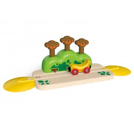 Hape Monkey Pop Up Track