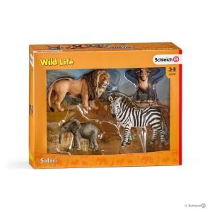 Schleich Wild Life Safari Starter Set