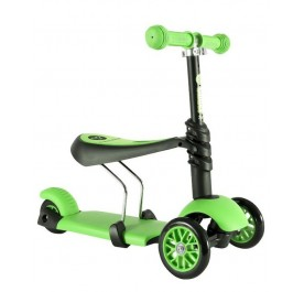 Yvolution Y'glider 3in1 Black Green