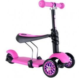 Yvolution glider 3in1 Pink