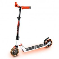 Yvolution Neon Flash Scooter Red 4L
