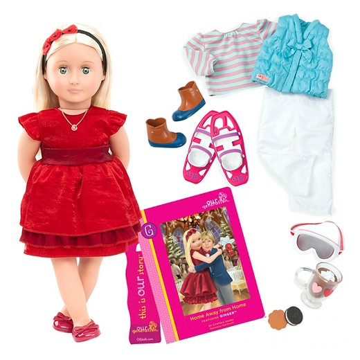 8a660217a8f76 And for dolls like Ginger who love to celebrate the holidays, why not set  up the Holiday Celebration Set so that your dolls can have fun exploring  their own ...