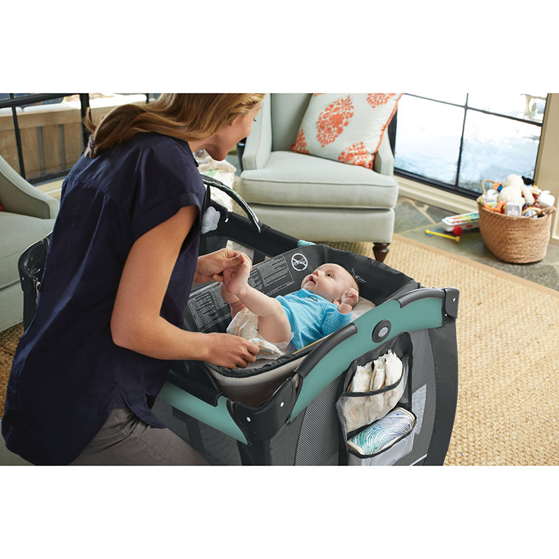 Graco Pack N Play Portable Reversible Napper Changer Playard Asteroid Portable Vacuum Danby Portable Air Conditioner 6000 Btu Review Portable Projector Price In Dubai: Graco Pack 'n Play Playard Reversible Napper & Changer LX